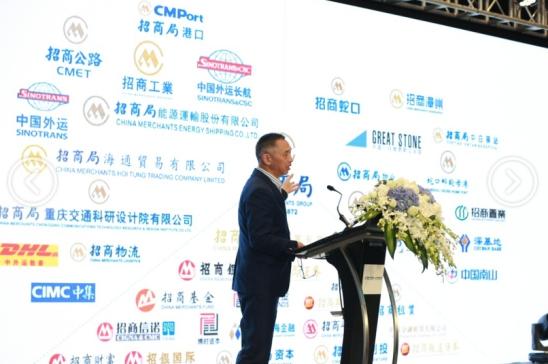 产业嘉宾代表--招商金融副总经理朱立伟,招商蛇口副总经理张林,招商